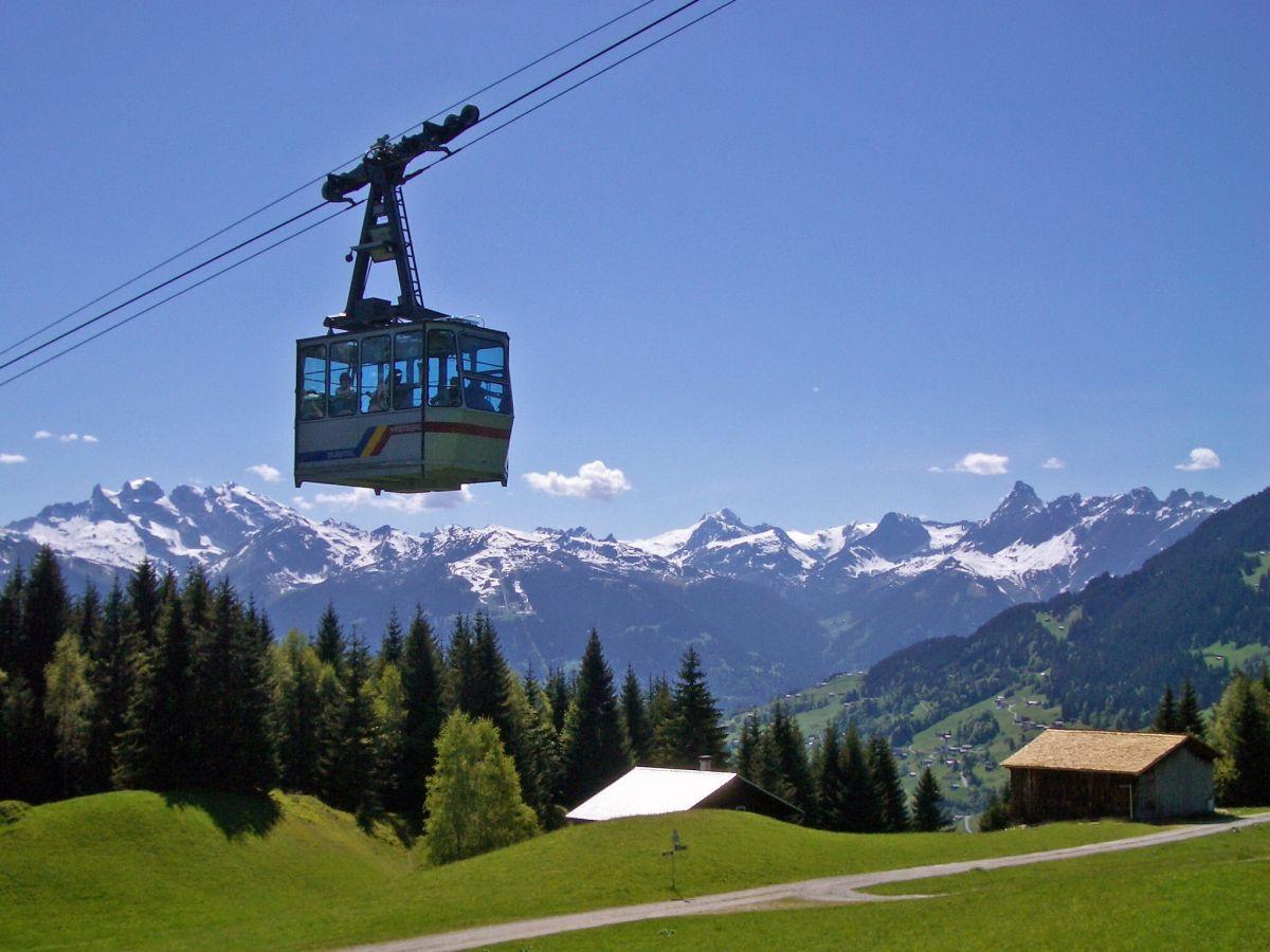 Ferienhaus Alpenstern in Gaschurn Umbebung